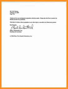 3  basic two weeks notice letter   scholarship letter
