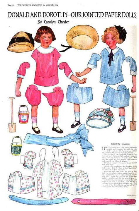 printable jointed paper doll 17 best images about paper dolls jointed on pinterest