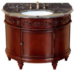 Oval Bathroom Vanity Single Vanity Traditional Bathroom Vanities And Sink Consoles By Bosconi Wholesale