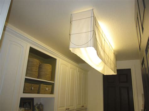 fluorescent light covers fabric fluorescent light fixture fabric shade cool lighting