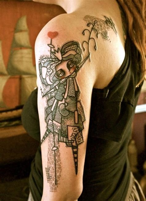 female shoulder tattoo 25 amazing shoulder tattoos for collections