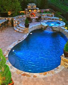 Beautiful Backyards With Pools Beautiful Backyard Pool And Pit Area Awesome Backyards Beautiful