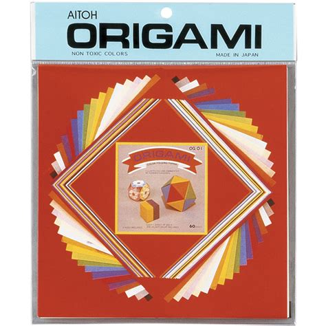 Origami Paper Sizes - origami paper assorted sizes small mix 60 pkg