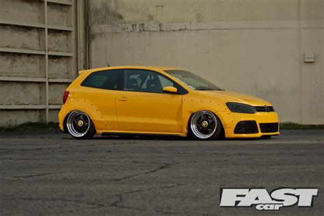 volkswagen polo modified stanced vw polo fast car