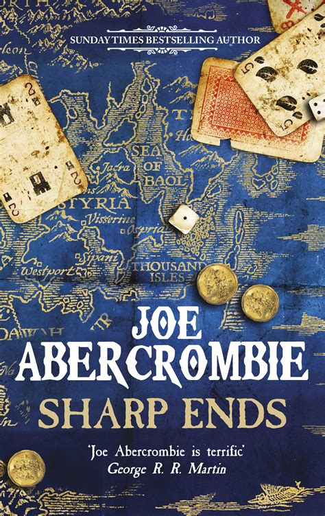 joe abercrombie update and sharp ends cover reveal