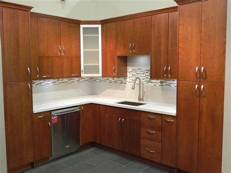 cherry oak kitchen cabinets natural cherry wood kitchen cabinets roselawnlutheran