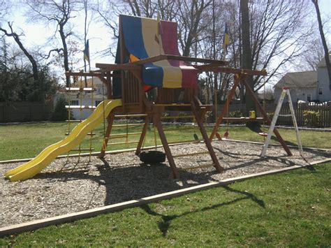 rainbow swing set stain 7 tips for maintaining a redwood swing set all about the