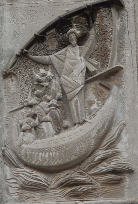 la tempesta sedata le storie di san luca evangelista l altorilievo di angelo