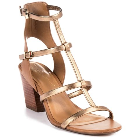 report gold sandals report signature adelina gladiator sandals in gold lyst