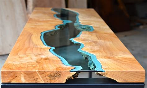 cool tables really cool coffee tables live edge wood table glass live