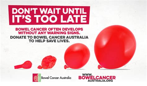 Colon Cancer Without Blood In Stool by Bowel Cancer Australia Bowel Cancer Australia