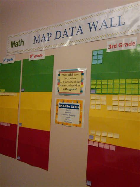 data rooms map data wall school ideas