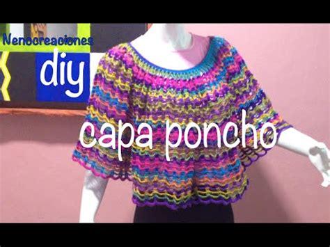 manualidades paso a paso tejido a crochet capas capa poncho f 225 cil y r 225 pido ganchillo crochet easy layer