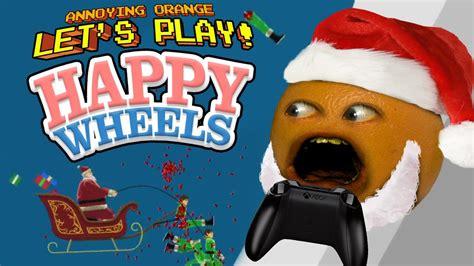 happy wheels christmas game