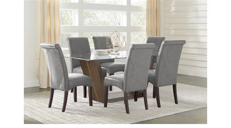 espresso dining room furniture ambassador place espresso dark brown 5 pc rectangle