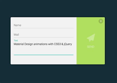 material design calendar css 5 material design animations with css3 and jquery