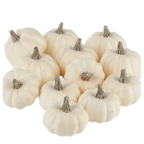 Pumpkin Vase Filler by Assorted Harvest White Pumpkins Bowl And Vase Fillers