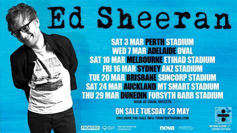 ed sheeran melbourne magic899 ed sheeran touring australia