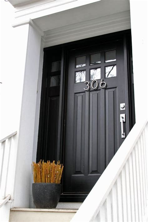 Black Exterior Doors Black Front Doors Front Door Freak
