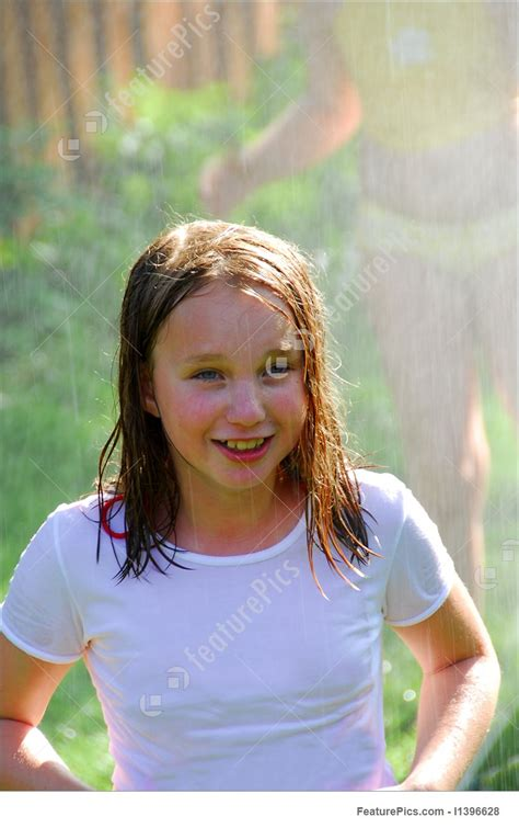girl  sprinkler picture