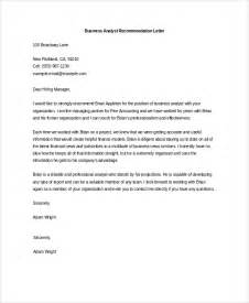 Business Letters Of Recommendation Exles Sle Letter Of Recommendation 20 Free Documents