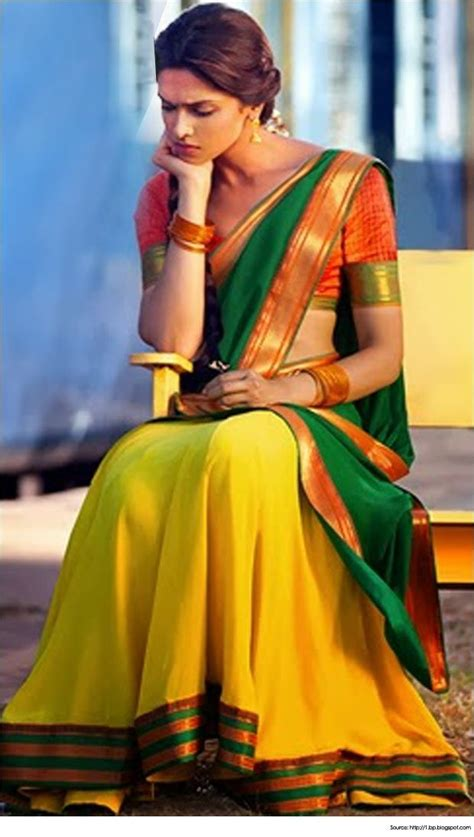 pattern dressmaker chennai tamil nadu deepika padukone in the traditional half sari pavada