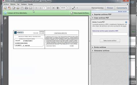 comprobante de cuil para imprimir software de gesti 243 n de tr 225 mites comprobante de cuil youtube