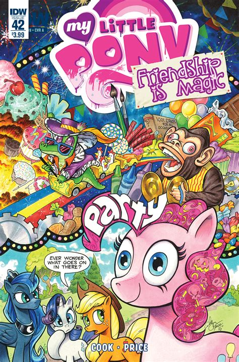 my little pony friendship is magic 2012 idw comic books my little pony friendship is magic 42 idw publishing