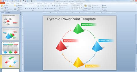 3d powerpoint templates 2013 free download free 3d pyramid template for powerpoint presentations