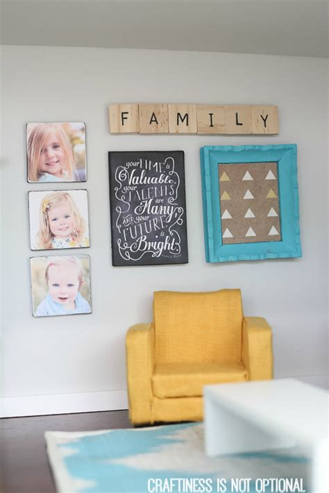 Kitchen Decorating Ideas Wall Art Diy Dollhouse Living Room And Kitchen