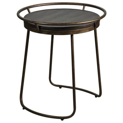 Uttermost Round End Tables Uttermost Accent Furniture Rayen Accent Table