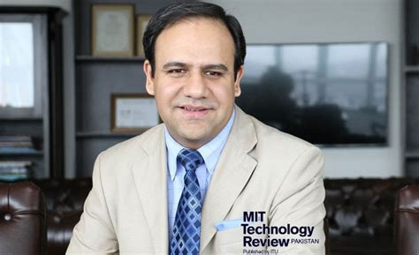 dr umar fue revieews launching of mit technology review pakistan