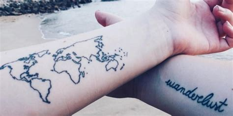 tattoos about travel travel tattoos are the next big trend for 2016 huffpost uk