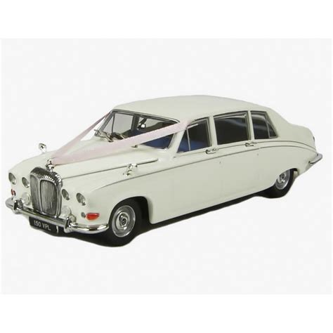 Wedding Car Oxford by Oxford Diecast 1 43 Ds001w Daimler Ds420 Limousine Wedding