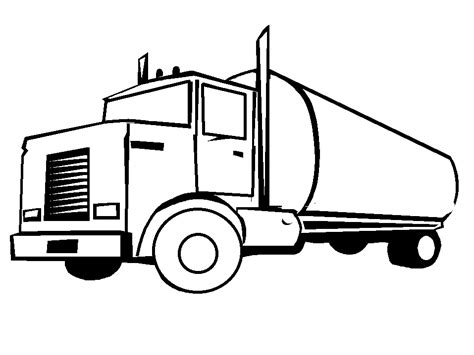 Coloring Truck Pages truck coloring pages coloringpages1001
