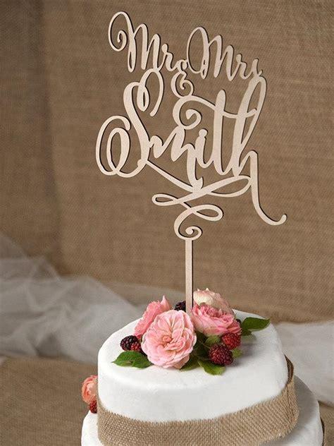 Wood Cake Topper rustic cake topper wedding custom cake topper wood cake