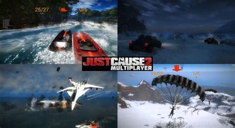 just cause 2 multiplayer mod game modes games for gamers news and download of free and indie