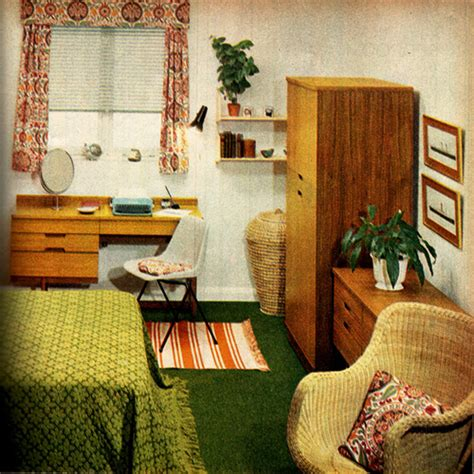 60s bedroom bedroom on a budget 1960s family circle linzie hunter
