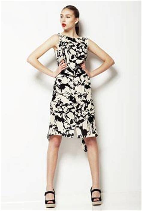 Dress Fashions Import 285 Black White a line dress lovetoknow