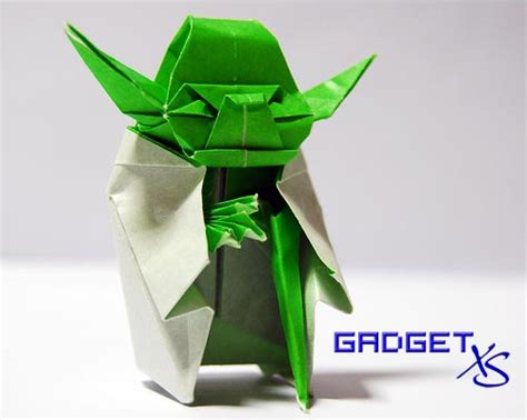 Really Cool Origami - gadget xs gadget and gizmo news everyday 187 origami yoda