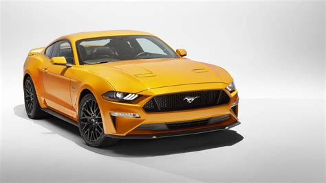 New Ford Vehicles 2018 by 2018 Ford Mustang Gets New Set Of Vehicles From Michelin