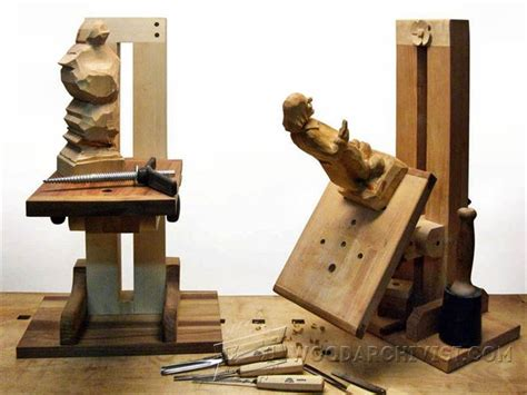 build   carving stand woodarchivist