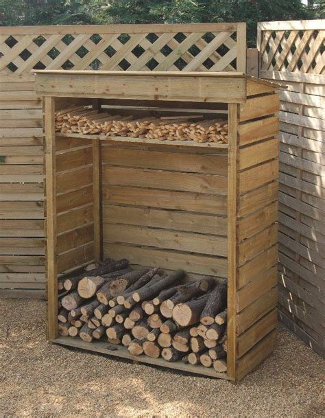 firewood storage rack diy woodworking projects plans