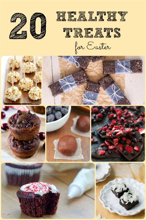 20 healthy easter treats six time and counting