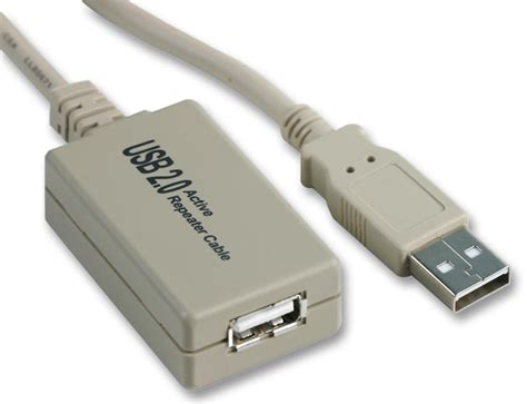 Usb Repeater psg02502 lead usb 2 0 repeater 5m unbranded