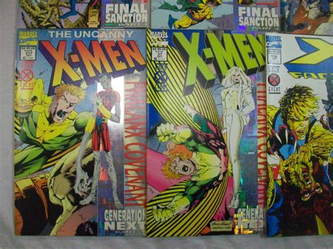 libro x men phalanx covenant x men x men phalanx covenant complete 9 issues foil covers marvel comics big bang toys comics games