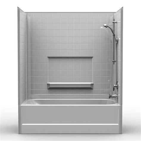 shower bathtub combination multi piece tub shower 60 quot x 30 quot x 72 quot shower tub combo 4rts6030 bestbath