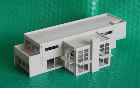 Architectural Home Design 3d Models by Artsvis515s Representing Architecture 187 3d Printed House