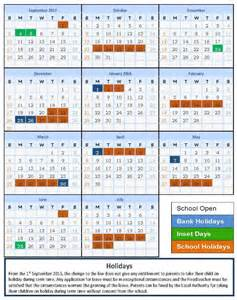 School Calendar 2018 School Calendar 2017 2018 Blessed Holford