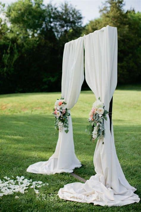 Wedding Arch Joann by Mayby With Navy Blue Fabric Johann Wedding
